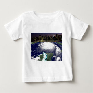Super Storm Sandy 2012,Eye of the storm_ Baby T-Shirt