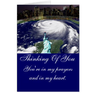 Super Storm Sandy 2012,Eye of the storm_ Card