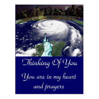 Super Storm Sandy 2012,Eye of the storm_ Postcard