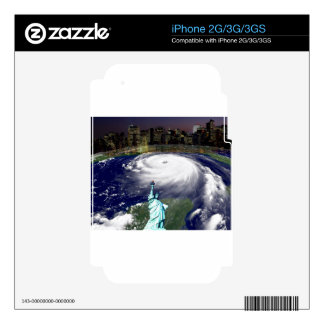 Super Storm Sandy 2012,Eye of the storm_ Decal For The iPhone 3