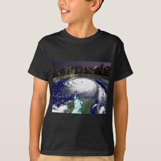 Super Storm Sandy 2012,Eye of the storm_ T-Shirt