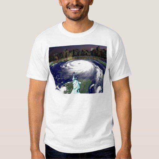 Super Storm Sandy 2012,Eye of the storm_ T Shirts