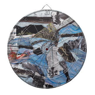 Super storm Sandy collage Dartboard With Darts
