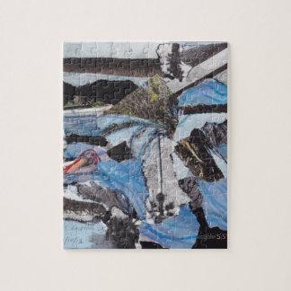 Super storm Sandy collage Jigsaw Puzzle