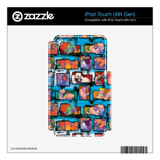 Super Street Fighter II Turbo Skin For iPod Touch 4G