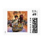 Super Street Fighter IV 3D Edition Box Art Stamp