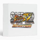 Super Street Fighter IV 3D Edition Logo Binders
