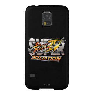 Super Street Fighter IV 3D Edition Logo Galaxy S5 Cover