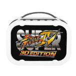 Super Street Fighter IV 3D Edition Logo Replacement Plate