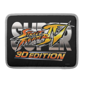 Super Street Fighter IV 3D Edition Logo Sleeve For MacBook Pro