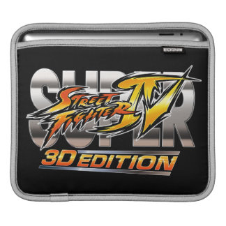 Super Street Fighter IV 3D Edition Logo Sleeves For iPads