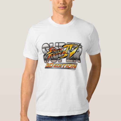 Super Street Fighter IV 3D Edition Logo T-Shirt