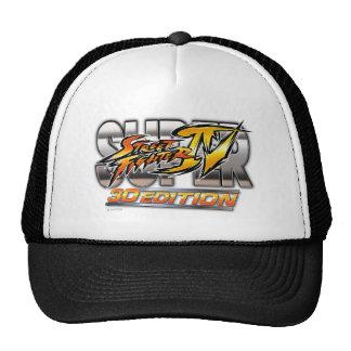 Super Street Fighter IV 3D Edition Logo Trucker Hat