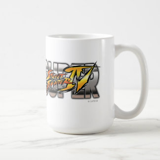 Super Street Fighter IV Logo Coffee Mug