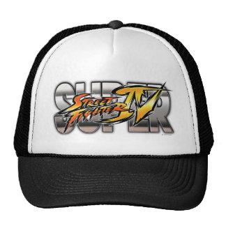 Super Street Fighter IV Logo Hats
