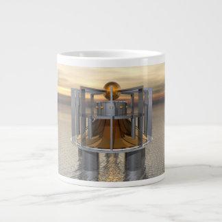 Super Structure Large Coffee Mug