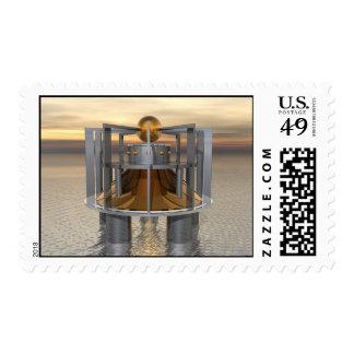 Super Structure Postage Stamp