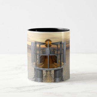 Super Structure Two-Tone Coffee Mug