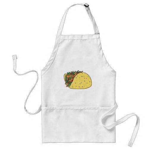 super stuffed taco apron