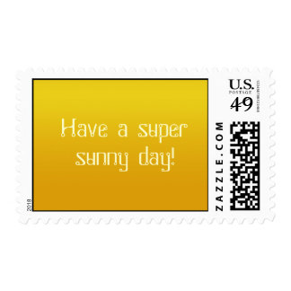 Super Sunny Day! -stamps
