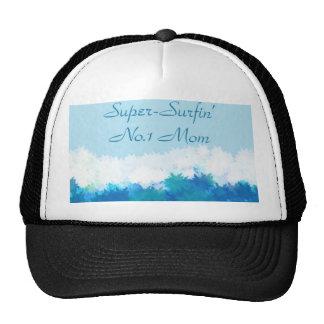 SUPER SURFIN NO 1 MOM MESH HATS