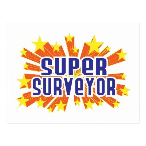 Super Surveyor Postcard