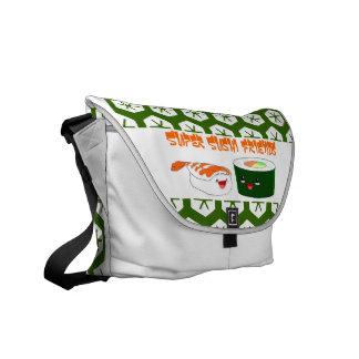 Super Sushi Friends Messenger Bag