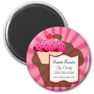 Super Sweet Cupcake Bakery Magnet
