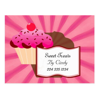 Super Sweet Cupcake Bakery Postcard
