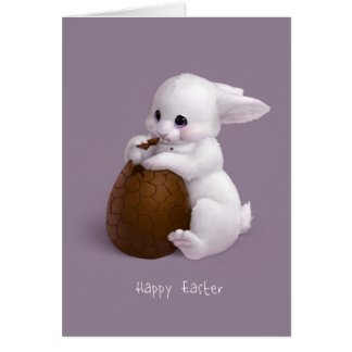 Super sweet Easter bunny Card