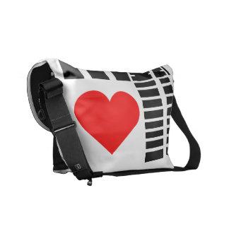 Super Sweet Heart Messenger Messenger Bag