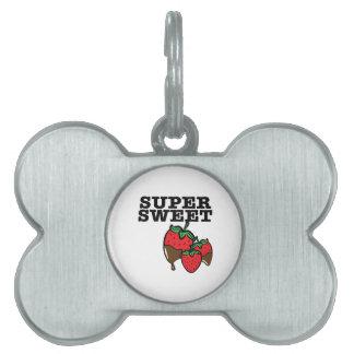 Super Sweet Pet Name Tag