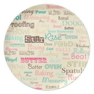 Super Sweet Words - Plate