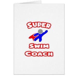 Super Swim Coach Card