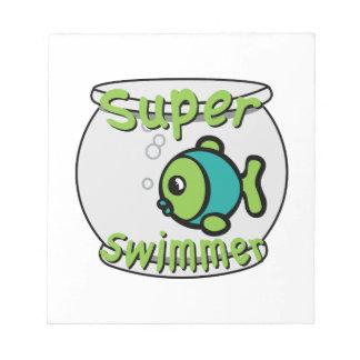 Super Swimmer Scratch Pads