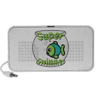 Super Swimmer Notebook Speaker