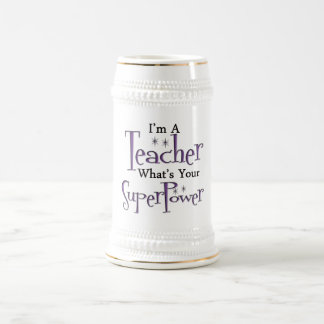 Super Teacher Beer Stein