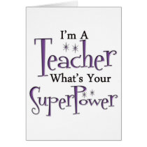 Super Teacher Card