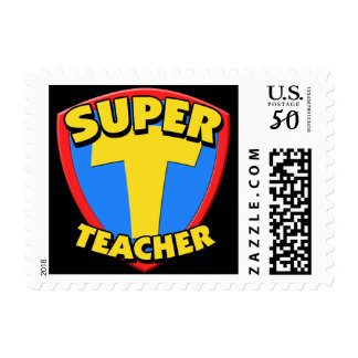 Super Teacher Custom Postage Stamps