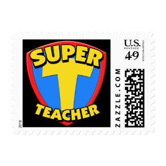 Super Teacher Custom Postage Stamps