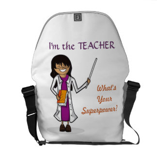 Super Teacher Messenger Bag