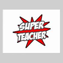 Super Teacher Postcards