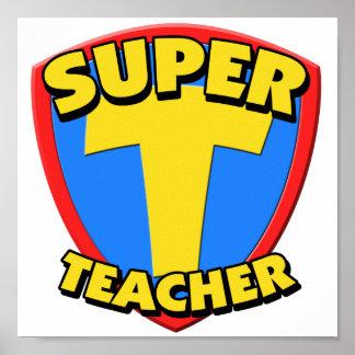 Super Teacher Print