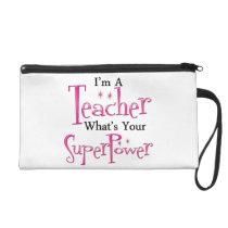 Super Teacher Wristlet