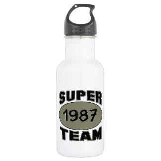 Super Team 1987 18oz Water Bottle