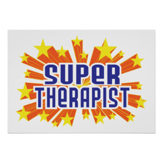 Super Therapist Poster