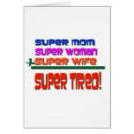 Super Tired! Greeting Card