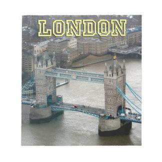 Super! Tower Bridge London Memo Pad