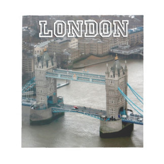 Super! Tower Bridge London Notepad