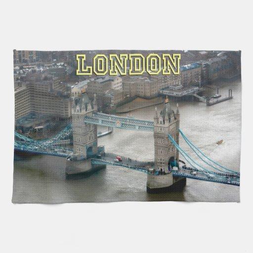 Super! Tower Bridge London Towels